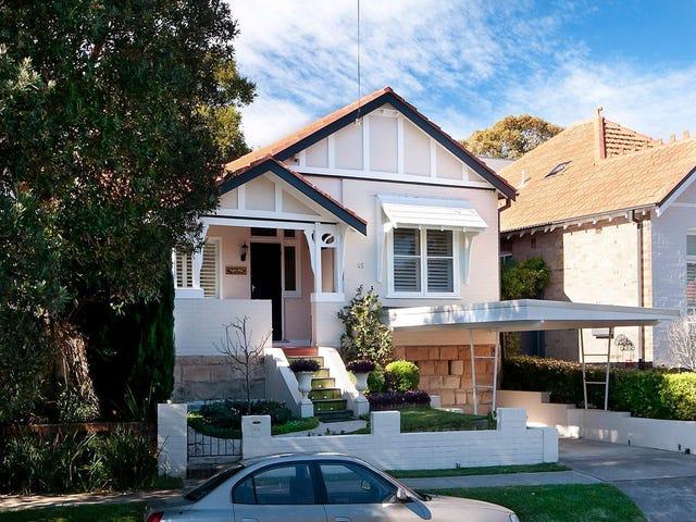45 Northcote Street, Naremburn, NSW 2065
