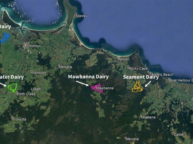 _ Mawbanna, Edith Creek, Montumana &, Smithton, Tas 7330