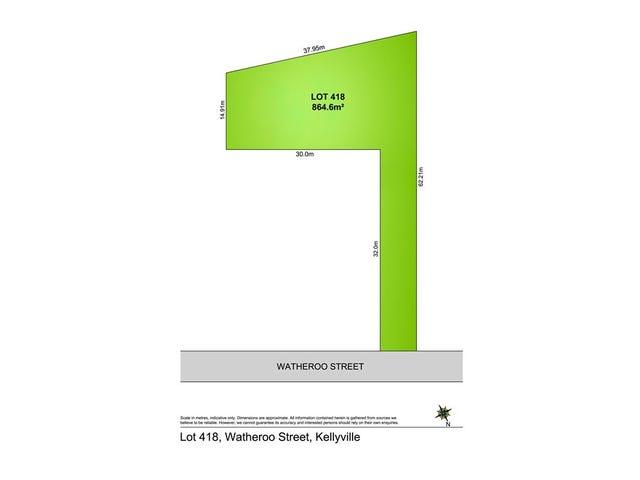 Lot 418 Watheroo Street, Kellyville, NSW 2155