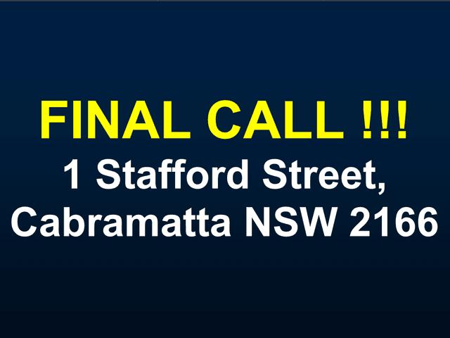 1 Stafford Street, Cabramatta, NSW 2166