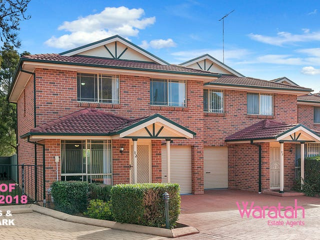 12/9 Stanbury Place, Quakers Hill, NSW 2763