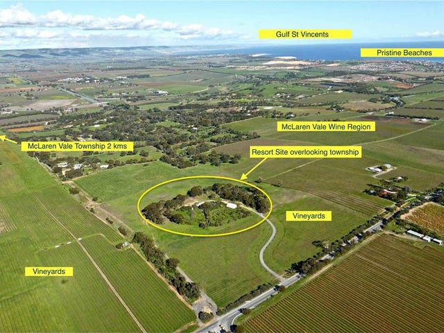 McLaren Vale, address available on request