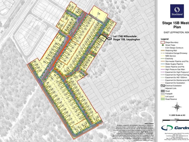 Lot 1740, Willowdale Estate, Leppington, NSW 2179