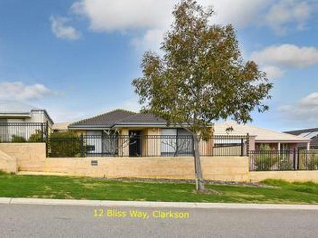 12 Bliss Way, Clarkson, WA 6030