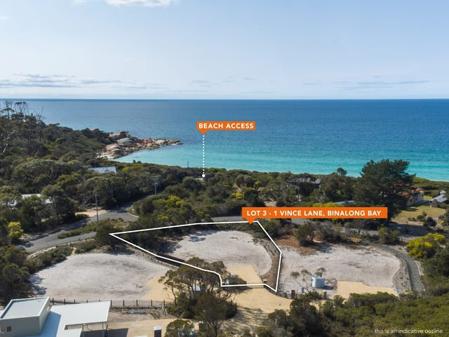 Lot 3, 1 Vince Lane, Binalong Bay, Tas 7216