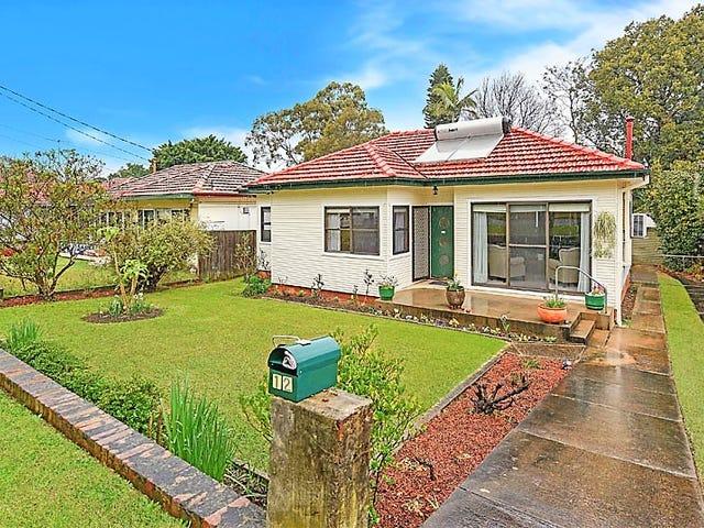 12 Eulalia Street, West Ryde, NSW 2114