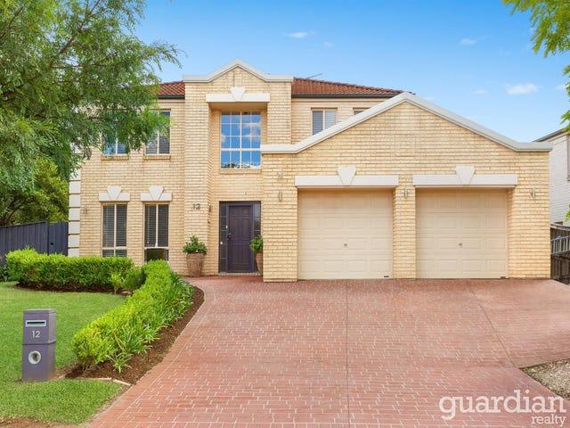 12 Matilda Grove, Beaumont Hills, NSW 2155