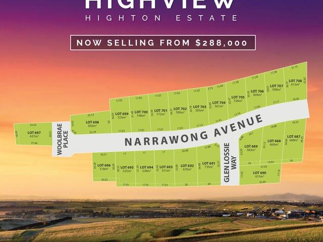 Stage 38 Highview Estate, Highton, Vic 3216