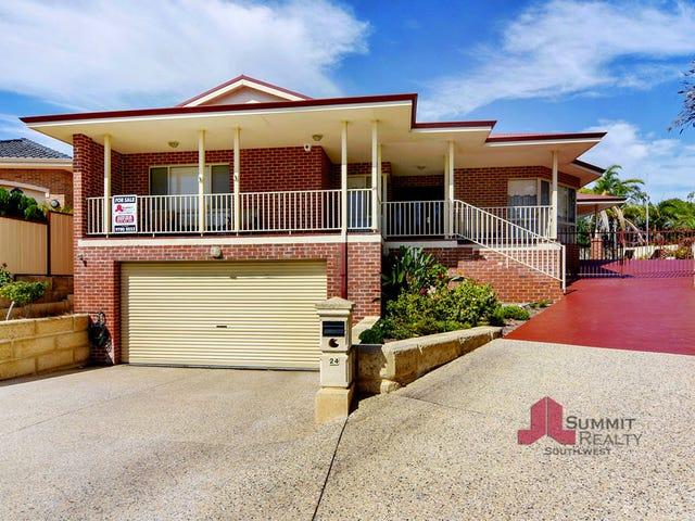 24 Caledonia Rise, Australind, WA 6233