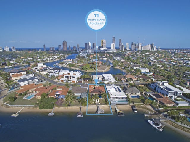 11 Andrea Ave, Broadbeach Waters, Qld 4218