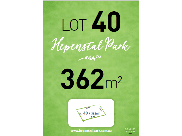 Lot 40, Hepenstal Park, Hackham, SA 5163