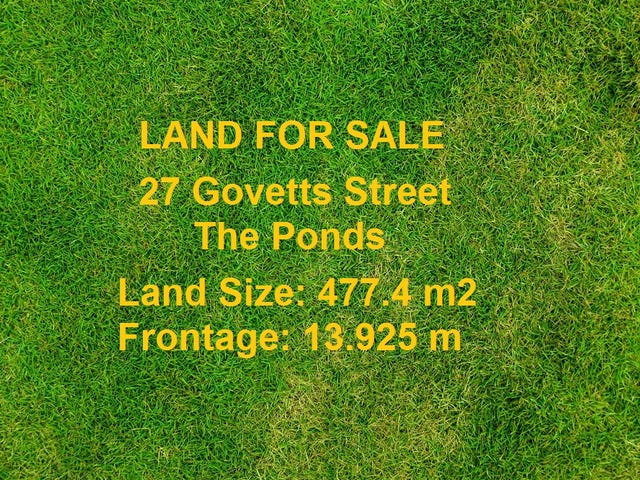 27 Govetts Street, The Ponds, NSW 2769