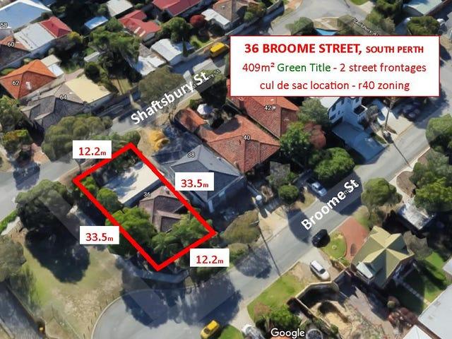 36 Broome Street, South Perth, WA 6151