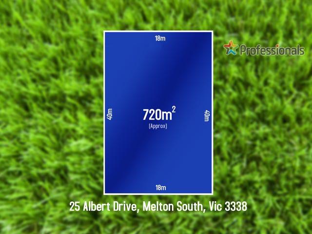 25 Albert Drive, Melton South, Vic 3338