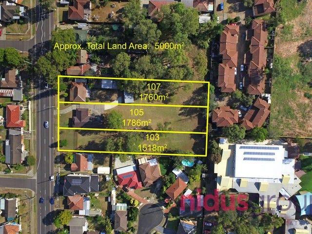 103, 105 & 107 Hillend Road, Doonside, NSW 2767
