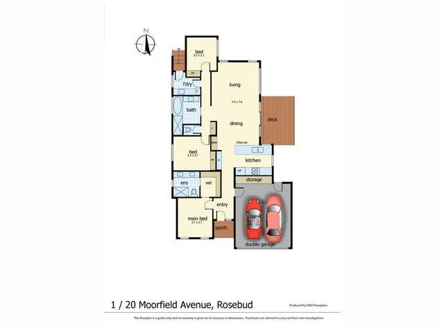 1-2/20 Moorfield Avenue, Rosebud, Vic 3939