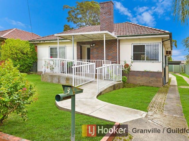 3 Oakleigh Avenue, Granville, NSW 2142