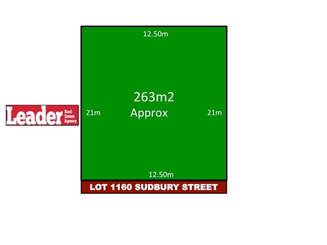 Lot 1160, Sudbury Street, Mickleham, Vic 3064