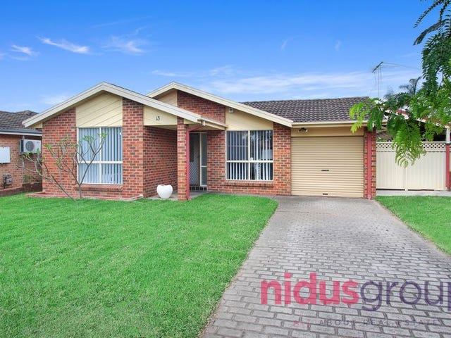 13 Sweeney Avenue, Plumpton, NSW 2761