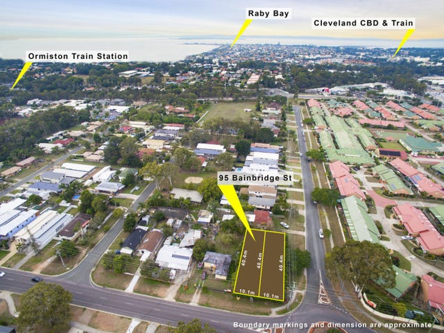Lot 1 & 2, 95 Bainbridge Street, Ormiston, Qld 4160