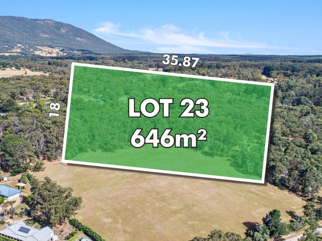 Lot 23, Clover Tree Circuit, Woodland Views Estate, Woodend, Vic 3442