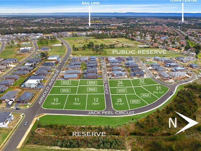 Level Lots 10,11/39 Cnr Arnold Avenue & Jack Peel Circuit, Kellyville, NSW 2155