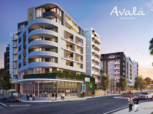 Avala Apartments 90 Cartwright Avenue, Miller, NSW 2168
