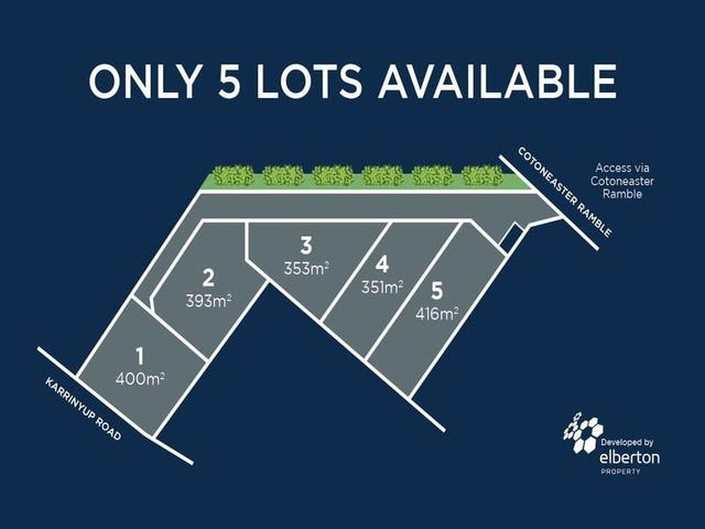 Lot 5, 52 Cotoneaster Ramble, Stirling, WA 6021