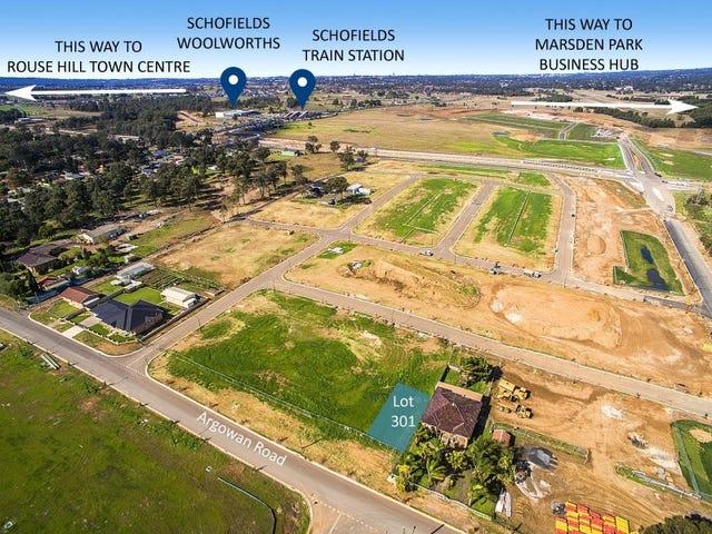 Lot 301 Argowan Road, Schofields, NSW 2762