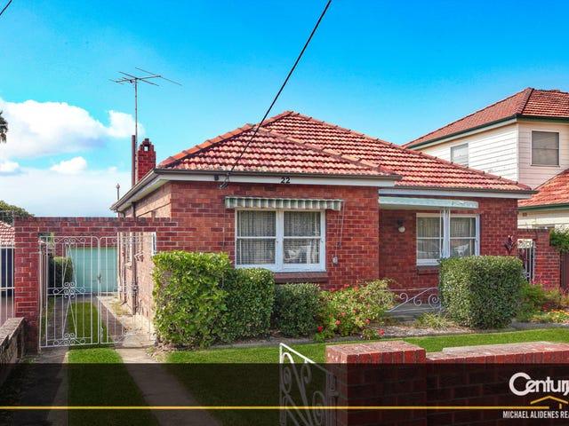 22 Panorama Road, Kingsgrove, NSW 2208