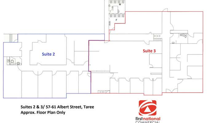 Suites 2 & 3/57-61  Albert Street Taree NSW 2430 - Image 2