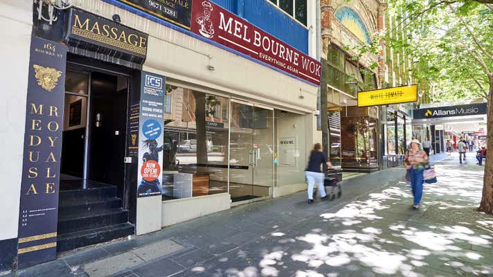 Leased Shop & Retail Property at 164 Bourke Street