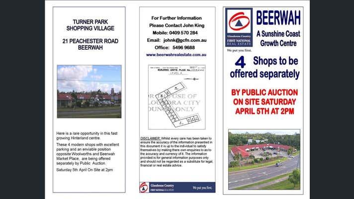 Sold Shop & Retail Property at Turner Village Shopping