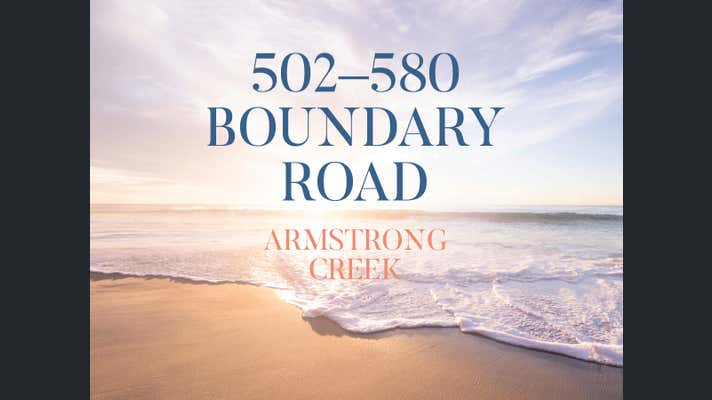 502-580 Boundary Road Armstrong Creek VIC 3217 - Image 1