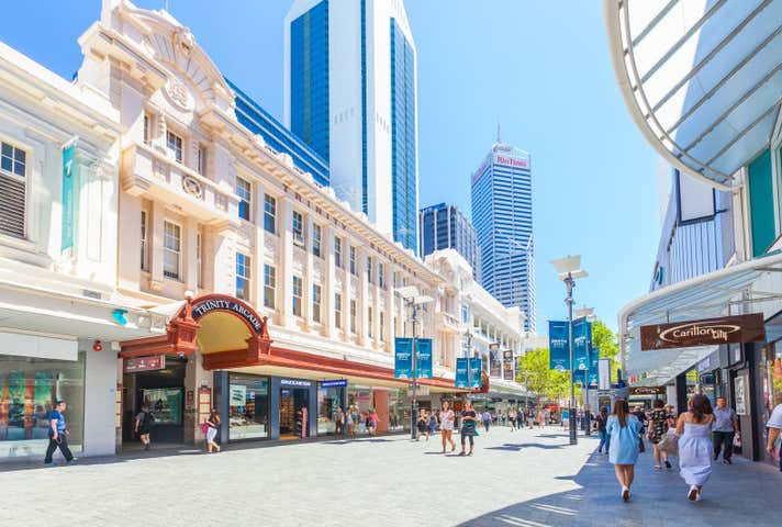Commercial real estate property for lease in perth wa for 16 st georges terrace