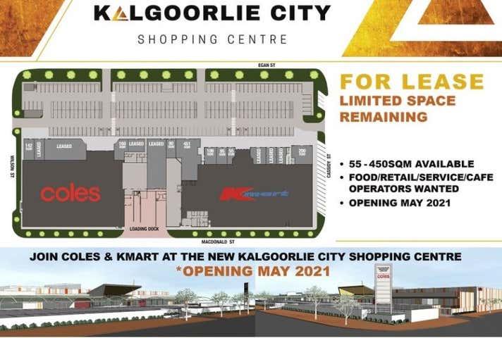 Kalgoorlie City Shopping Centre, 145 Egan Street Kalgoorlie WA 6430 - Image 1