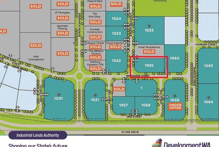 Lot 1035 Cnr Longitude Ave & Hemisphere St Neerabup WA 6031 - Image 1
