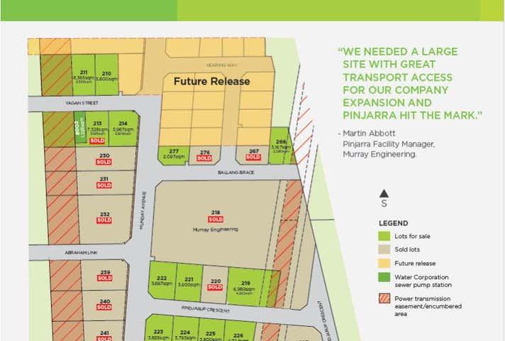 Lot 225 Pindjarup Crescent Pinjarra WA 6208 - Image 1