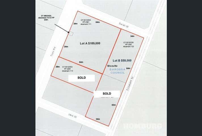 Moculta Primary School, Lots 111, 112 & 122 Truro Road, Sarah & Elizabeth Street Moculta SA 5353 - Image 1