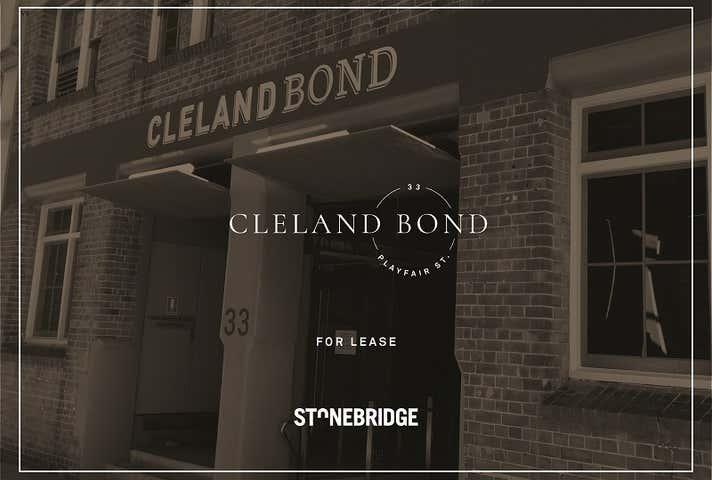 Cleland Bond, 33 Playfair Street The Rocks NSW 2000 - Image 1