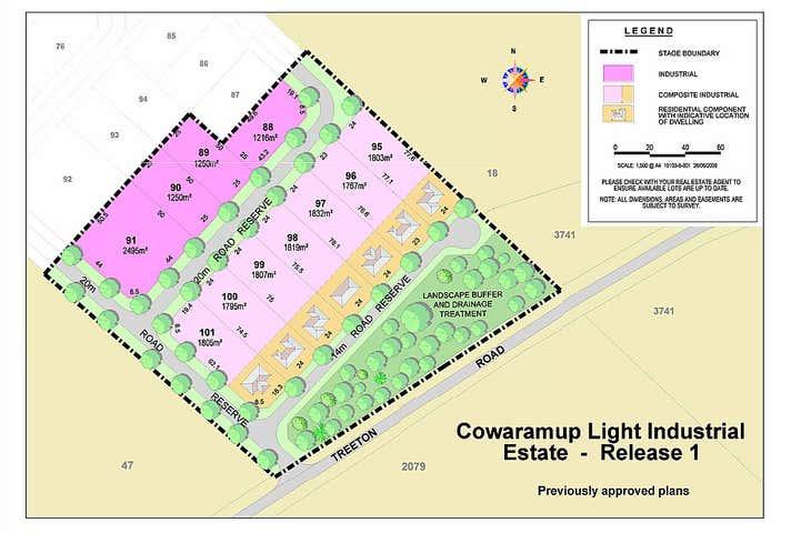 Lot 46 Treeton Road Cowaramup WA 6284 - Image 1