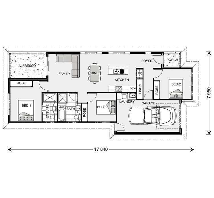 Robina Floor Plan