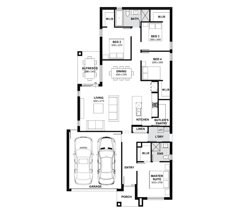 Yorke 21 Home Design & House Plan by Henley