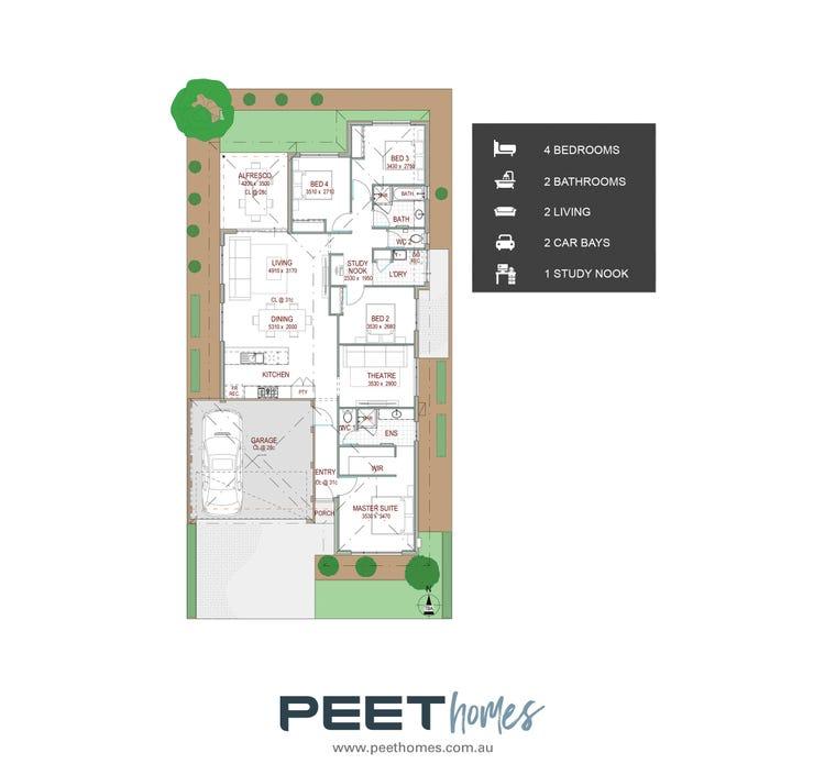 Lantana Display  12.5 X 25m Floor Plan