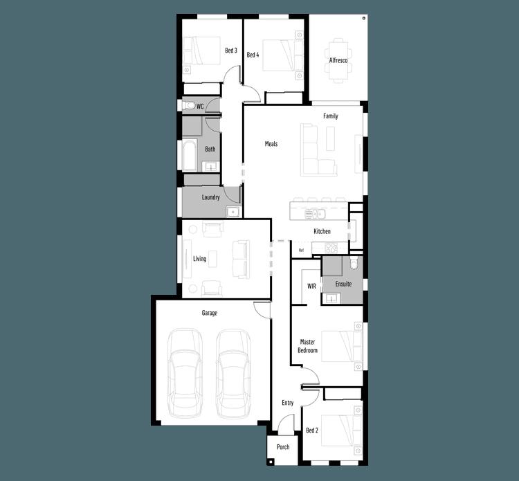 SHORE 23 Floor Plan