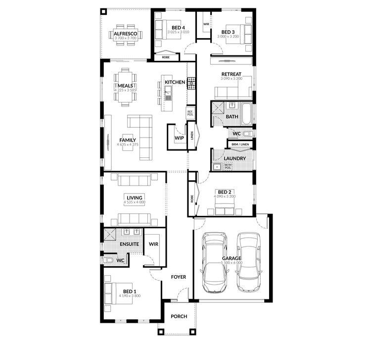 Essa Floor Plan