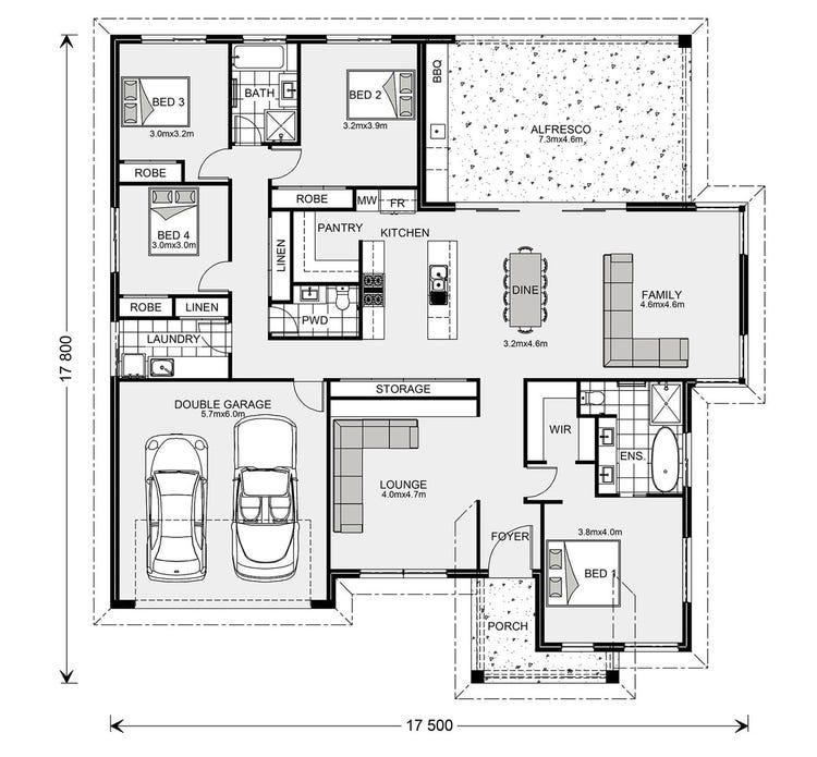 Kingaroy Floor Plan