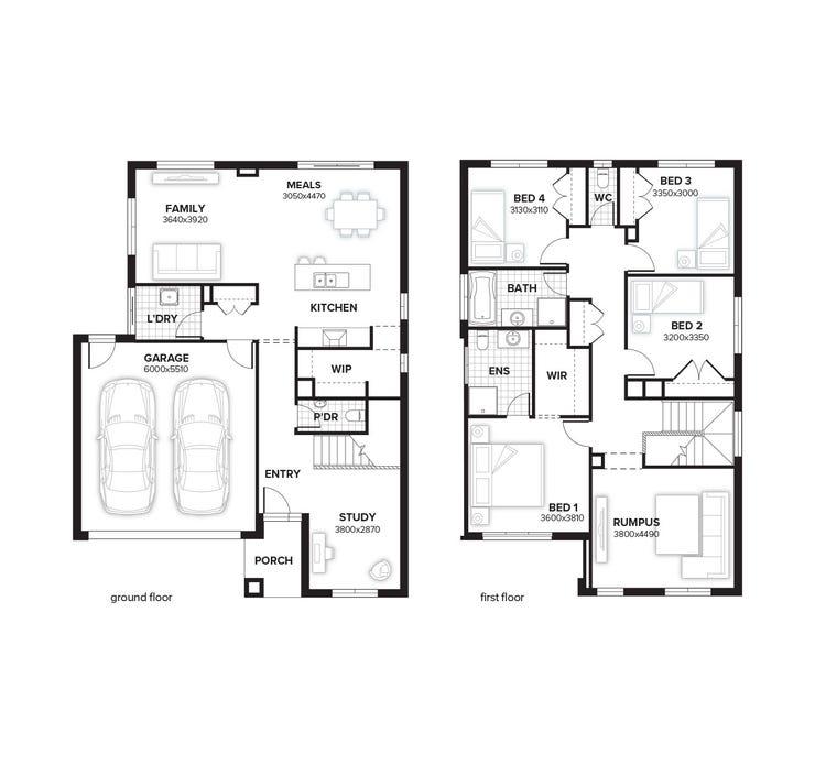 Ashwood Floor Plan