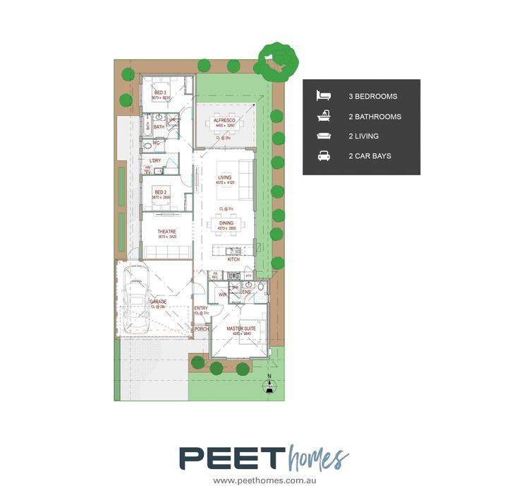 Penda   12.5 X 25m Floor Plan