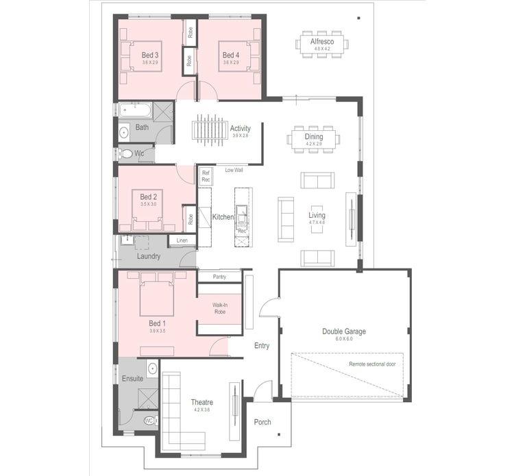 Monarch Floor Plan